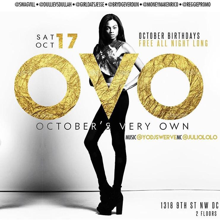 TONIGHT! • OVO (October's Very Own) • Vita Lounge • Powered by: @swagvill http://t.co/FiI2r0RxhR