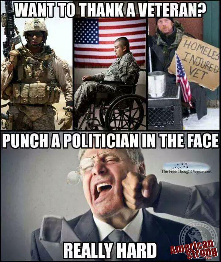 CRjbaEvWoAAx qq want to thank a veteran? punch a politician in the face really