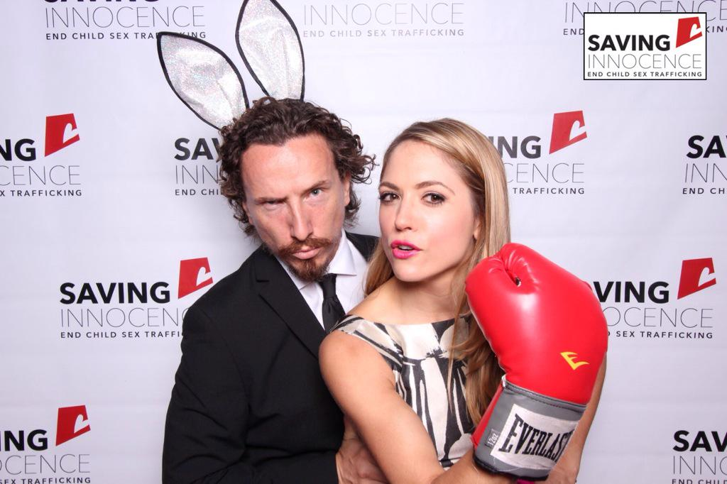 With my bunny @TraynorLand joining the fight against underage sex trafficking @savinginnocence @hiddentearsproj http://t.co/XAyb8t0XOd