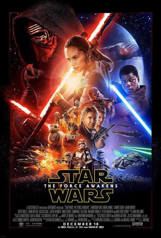 Póster oficial de 'Star Wars: El Despertar de la Fuerza' http://t.co/RgHLz6w0ES