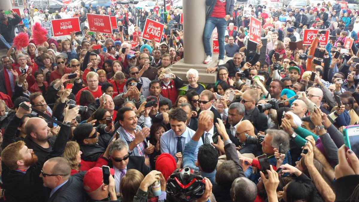 They'll never like a Trudeau in Calgary… http://t.co/QS3nmCq1fN