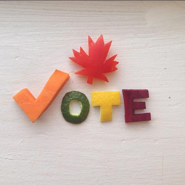 V O T E • Make sure to get out and exercise your democratic right tomorrow!  #elxn42 #cdnpoli http://t.co/1Hpnfirio7