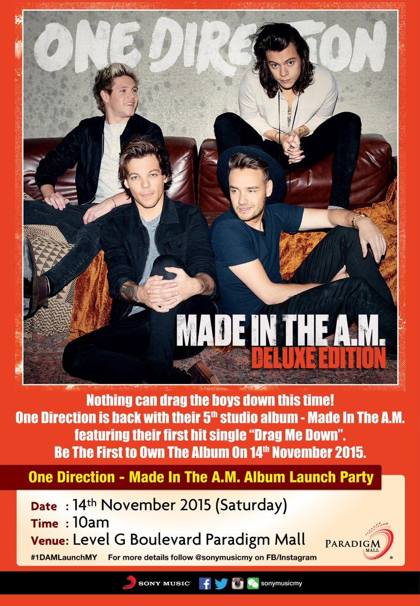 ITS TRENDING ON TWITTER NOW! YOU GUYS MADE IT! HERE'S WHAT YOU WANT: #1DAMLaunchMY! MARK YOUR DATE & SEE YOU THERE! http://t.co/5MZYI5KpEH