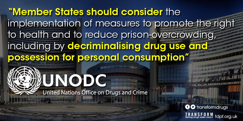 MAJOR NEWS: Leaked doc shows UN agency in charge of drug war wants to decriminalise drugs http://t.co/YjKByxCmmQ http://t.co/vKzrlOkc5W