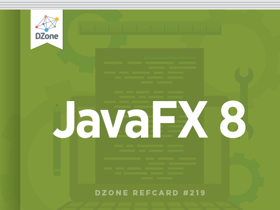 New @DZone Refcard: JavaFX 8 by @hendrikEbbers & @net0pyr http://t.co/uWISZISJTo #java #ui http://t.co/NCqMggv3DR