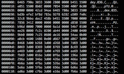 #protip: Hex edit in Vim  $ vim file.bin :% ! xxd  Edit.  :% ! xxd -r  Save. http://t.co/Ou1NjaIkA6