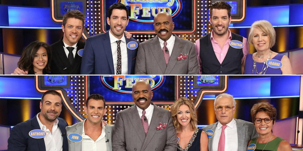 Tune in to #FamilyFeud 11/19 to see #TeamPropertyBros and #TeamCousins go face-to-face for their favorite charities! https://t.co/KZo8upsv50
