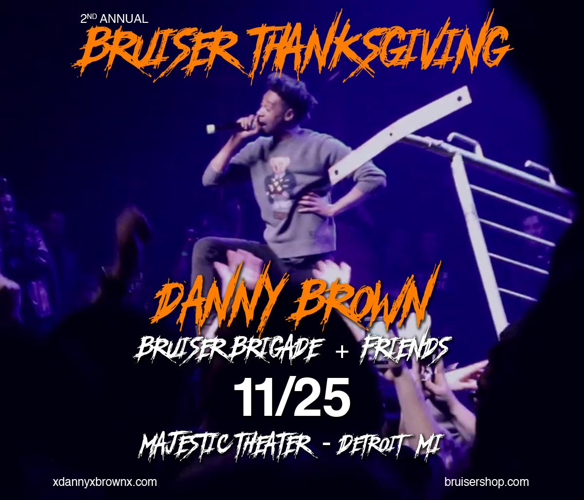 Tickets for Bruiser Thanksgiving 2 are now on sale!  https://t.co/s7JbKJG0rc  @xdannyxbrownx @bruiserbrigade https://t.co/8rc8cNH83D