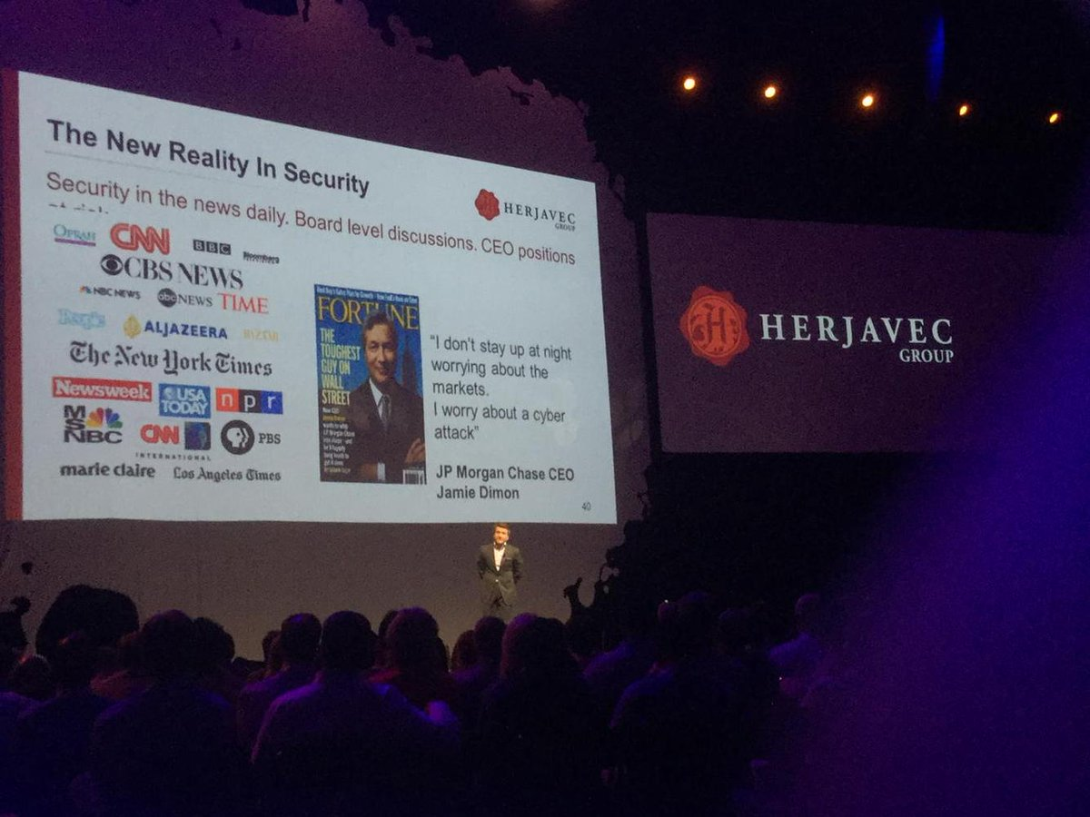 """""""The companies that will survive are the ones who can make sense of data."""" Robert Herjavec at #TDPartners15 https://t.co/s3l0mDiTE4"""