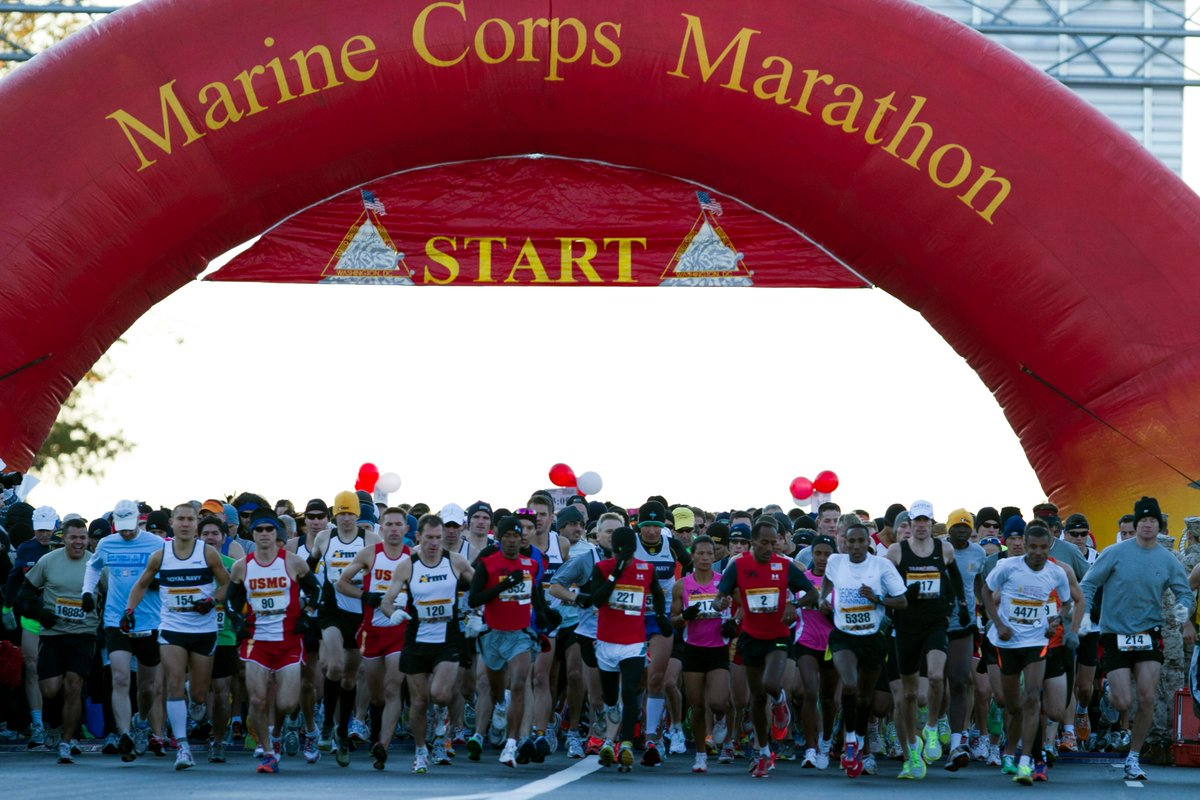 Happy @Marine_Marathon week! https://t.co/v8UkCHueAg