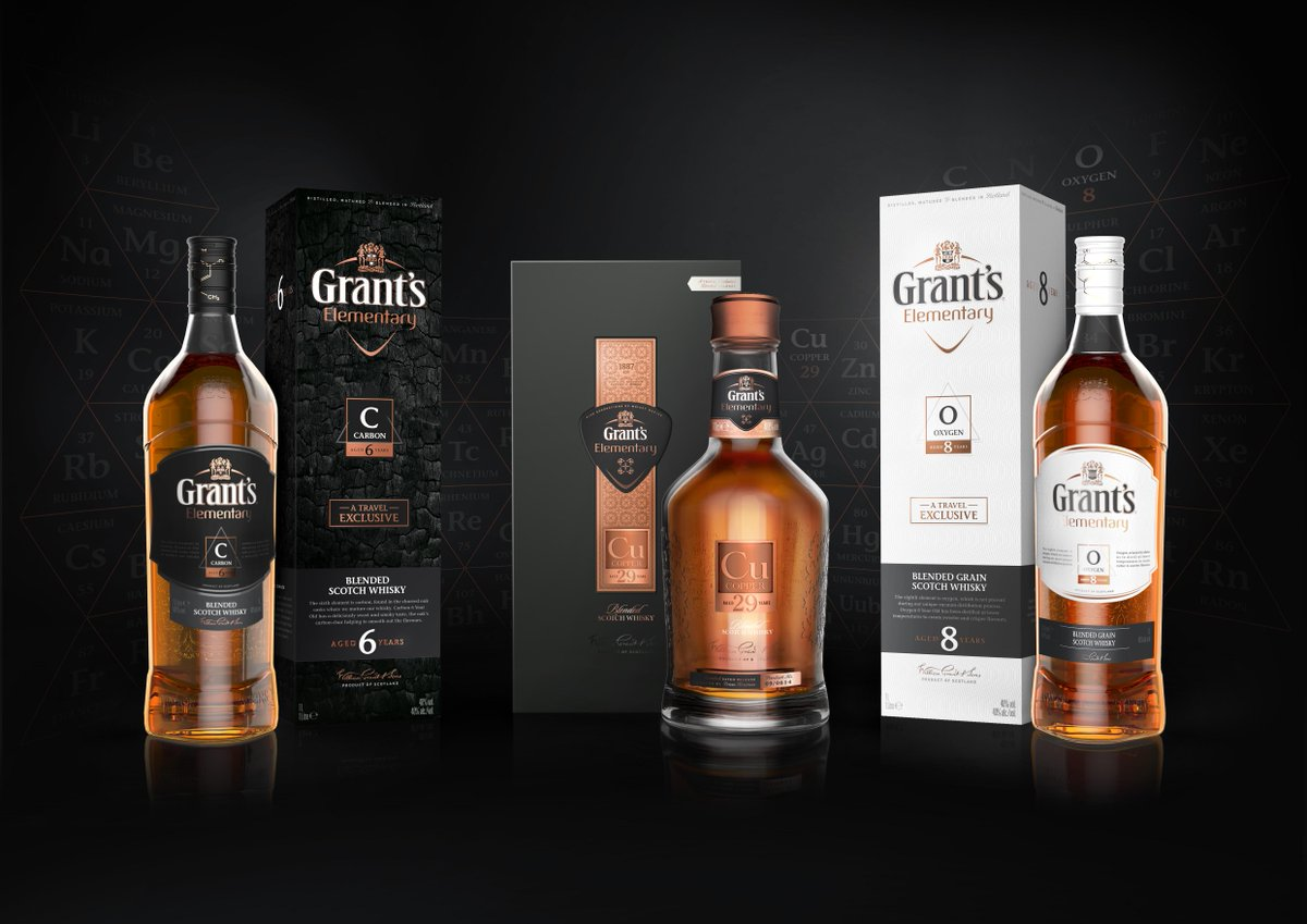 Our most innovative whisky range yet, Grant's Elementary - the perfect blend of art & science. #StandTogether #TFWA http://t.co/kVqJEtKy8t