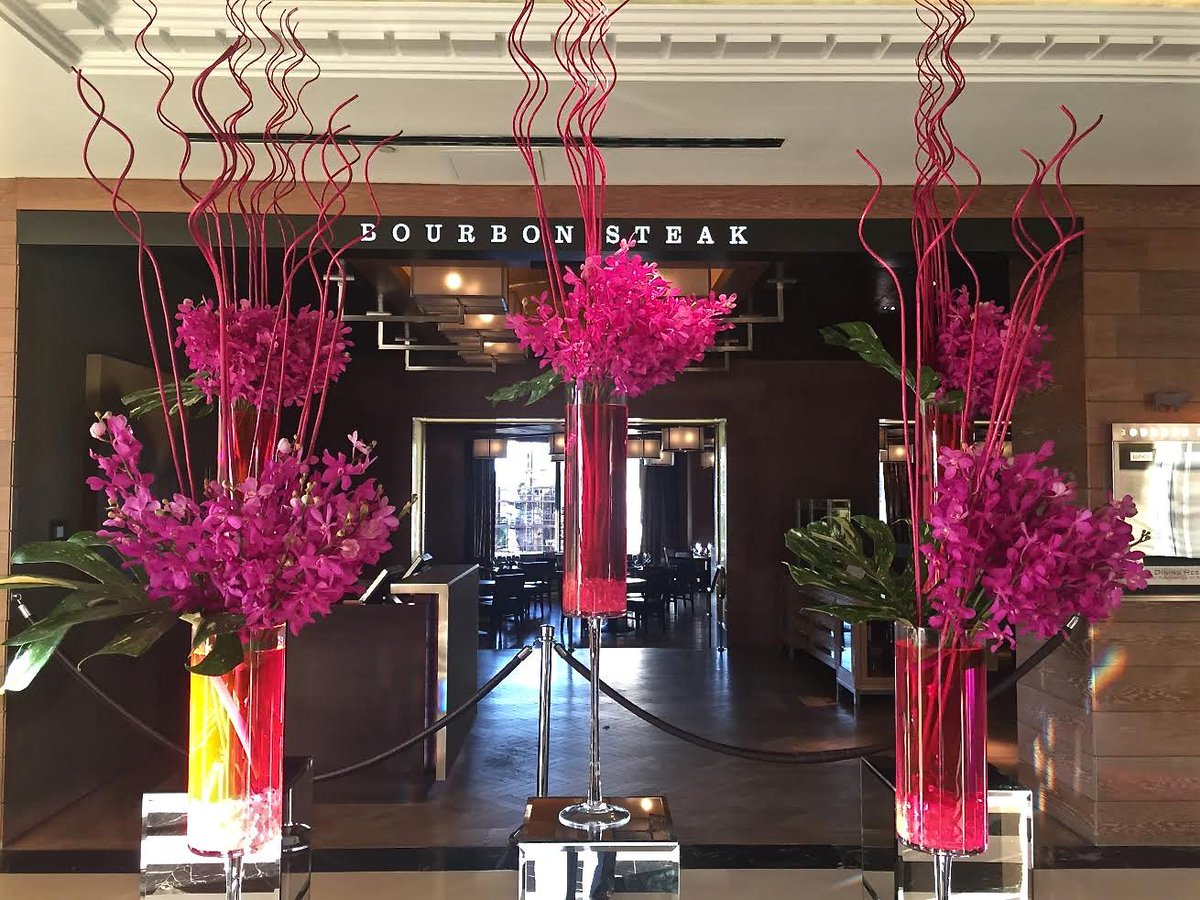 Four Seasons Hotel DC is thinking pink for #BCAM. Stop by the lobby to see the gorgeous blooms! http://t.co/75QXvLniOf