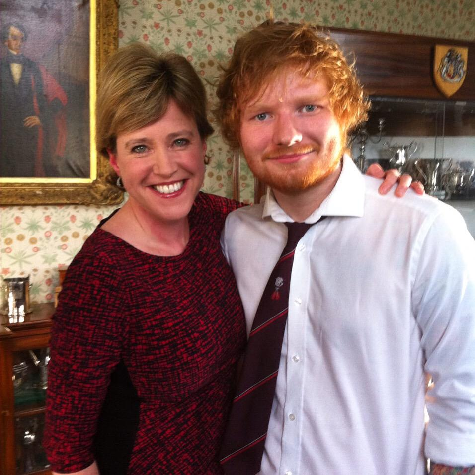 I first met @edsheeran when he was 16 - a lot has happened in 8 years. We catch up on @BBCLookEast at 6.30pm http://t.co/hvi7D9ZKzg