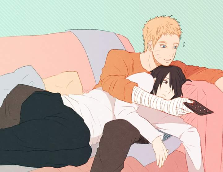 Starts the day with #NaruSasu 💛 https://t.co/Cjyvx78Qsq