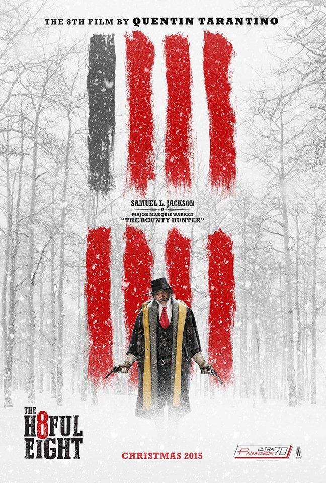 We are super excited to announce that we will be opening THE HATEFUL 8 on December 25 on #70mm! #QuentinTarantino https://t.co/REBFPiBBkX