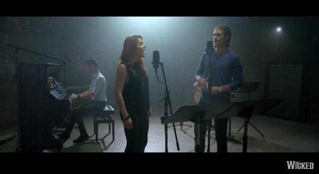 """Watch @AaronTveit & @RachelTucker1 sing a reimagined version of """"Defying Gravity"""" #OutofOz: https://t.co/4CVmgZdAuJ https://t.co/cQ1oRo0a8B"""