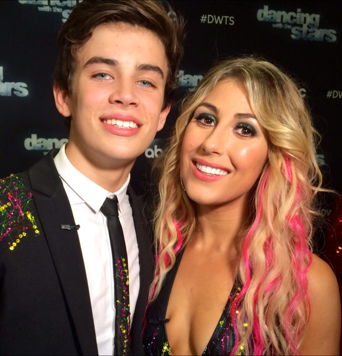 For all you devoted @HayesGrier fans, don't be late to #DWTS tonight. His jazz number w/ @EmmaSlaterDance is 1st.