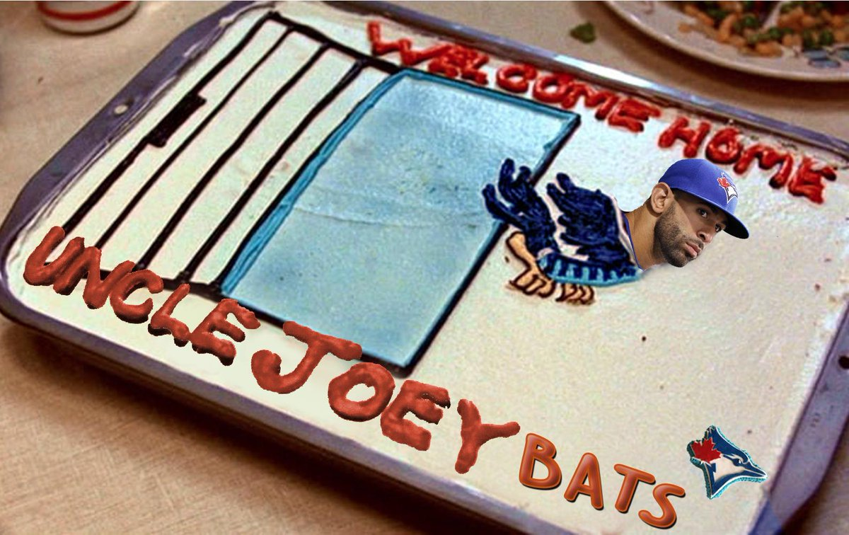 Welcome home (early) Uncle @JoeyBats19!!!!!  #BackToTheFuture #ComeTogether #BackToTheFutureDay #BTTF2015 https://t.co/Z0PvSOBx8f