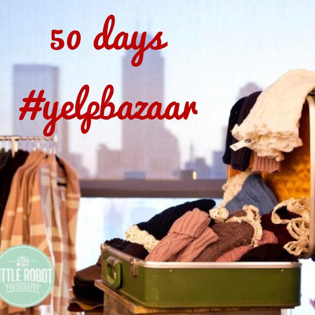 50 days 'til #yelpbazaar! See you Dec 10, 6:30-10pm at @IndyCENLibrary! #yelpshopslocal https://t.co/Q4qP5s5LRW