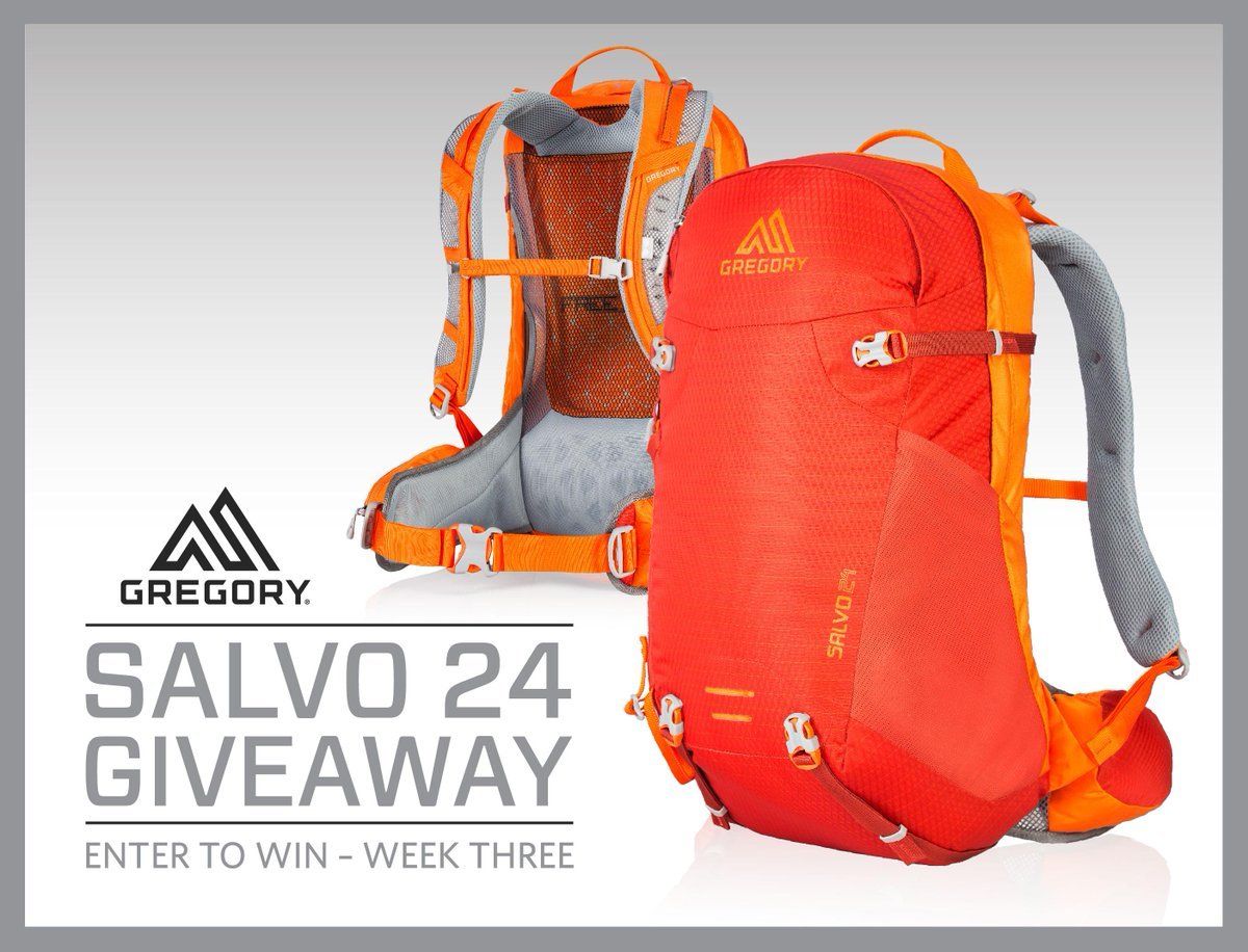 WIN the Men's Salvo 24 Daypack! https://t.co/V9B1J51Lr6 #win #daypack #giveaway #freebie #thetrailspeaks https://t.co/AHSnzsE3L3