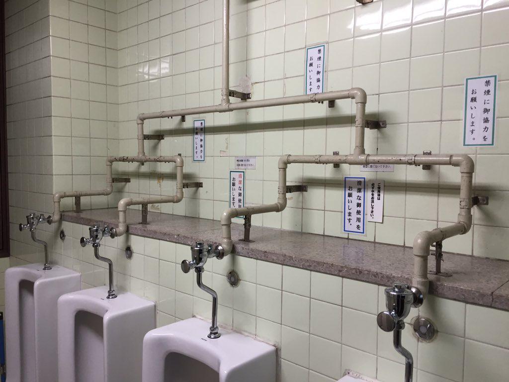 このトイレ、いきなり準決勝だよ。 https://t.co/qJoEh1h5J7