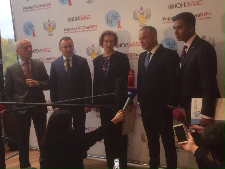 RT @UNAIDS_EECA: Отличный старт #Москва к первым #90 #пройдиТЕСТнаВИЧ #ВЕЦА  @LzLoures @VeraBrezhneva @EECAAC_official https://t.co/DhNnISr…