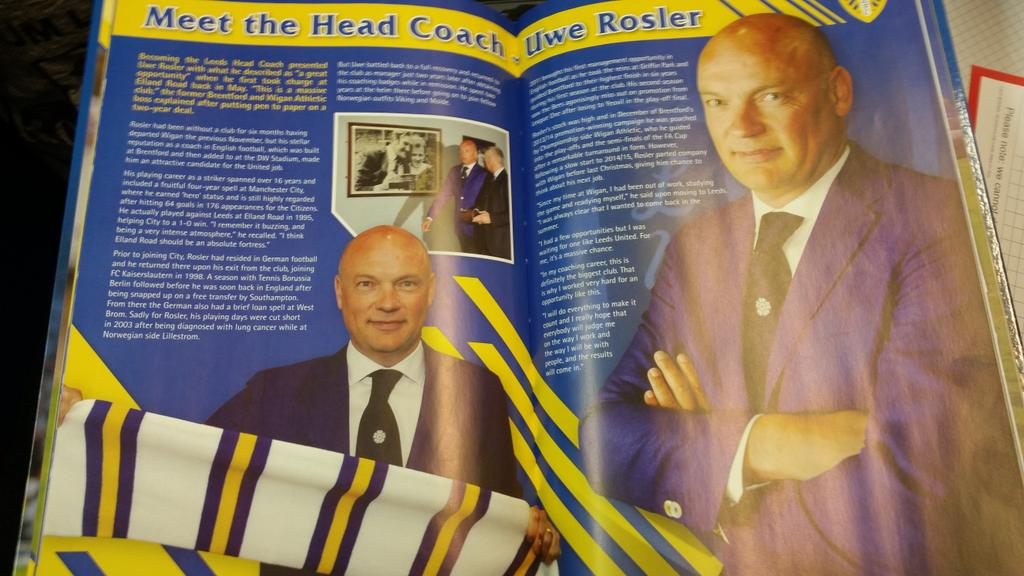 2016 Leeds United annual... https://t.co/e8OXjhAH1d