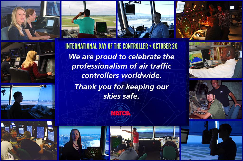 Happy International Day of the Air Traffic Controller! #NATCA #WeGuideYouHome #ProfessionalAirTrafficControllers https://t.co/D1gmCrWm2G