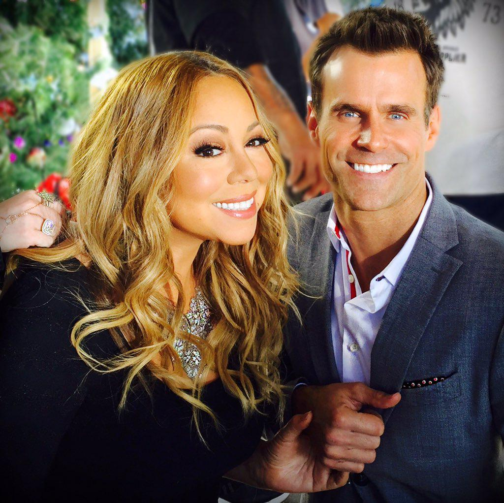 With @MariahCarey opening up about #Christmas #kids #relationship & @hallmarkchannel . Soon on @etnow #MariahCarey https://t.co/Us6emBzT9R