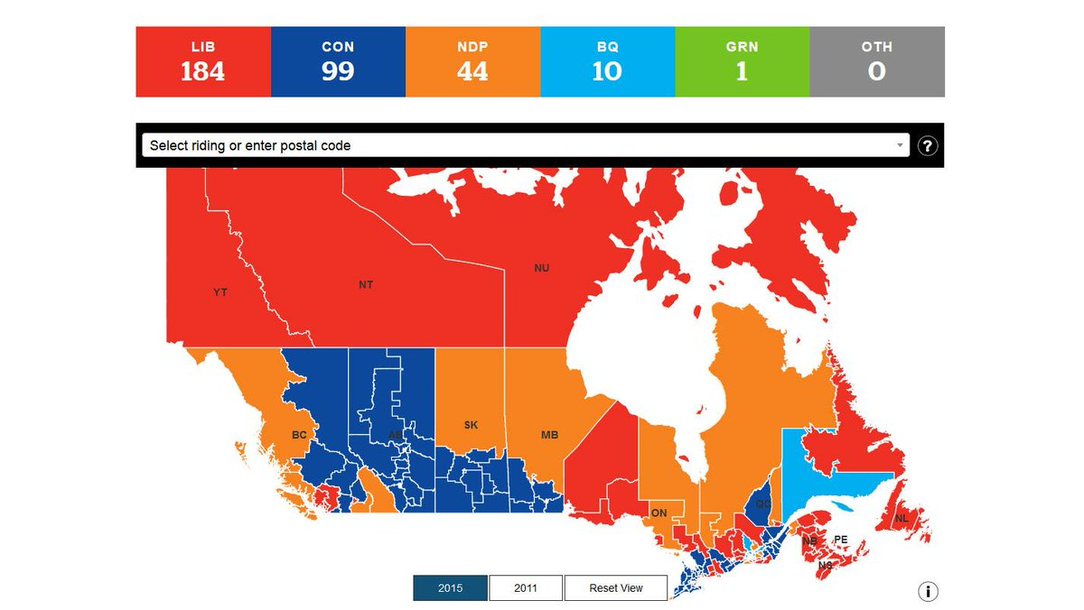 Check out the @CBCNews interactive results of last night's historic election. https://t.co/VN0ykvuwEj https://t.co/QM3XA3ux49