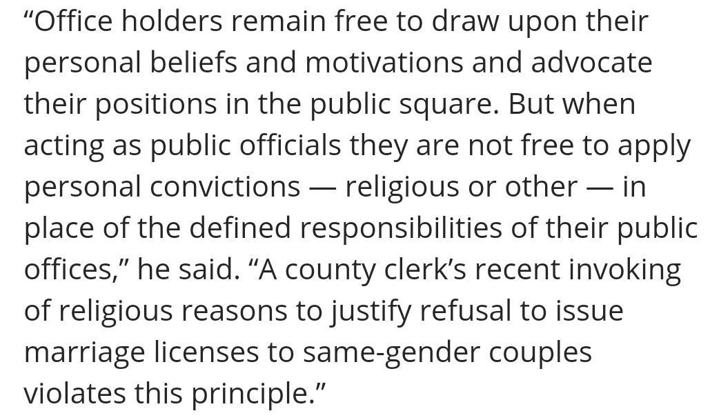 Elder Dallin H Oaks on Kim Davis: https://t.co/bF216ZTlrV https://t.co/SlUlwfo9Kz