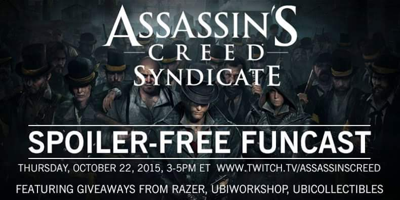 THURSDAY ASSASSINS!! And don't worry about spoilers, we'll protect you, hehe! https://t.co/Aniak2qV4E