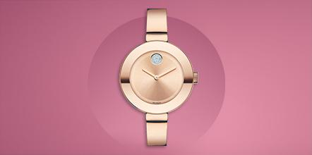 Think pink. Shop Movado to support @BCRFcure #BeTheEnd #Movado [https://t.co/t8lDiZHlhZ] https://t.co/TZFAtSWutg