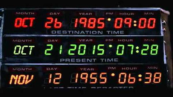 It's here! Back to the Future Day: the date Marty McFly & Doc travel forward to, from 1985 https://t.co/64KEoDZgCm https://t.co/syidThAwN9