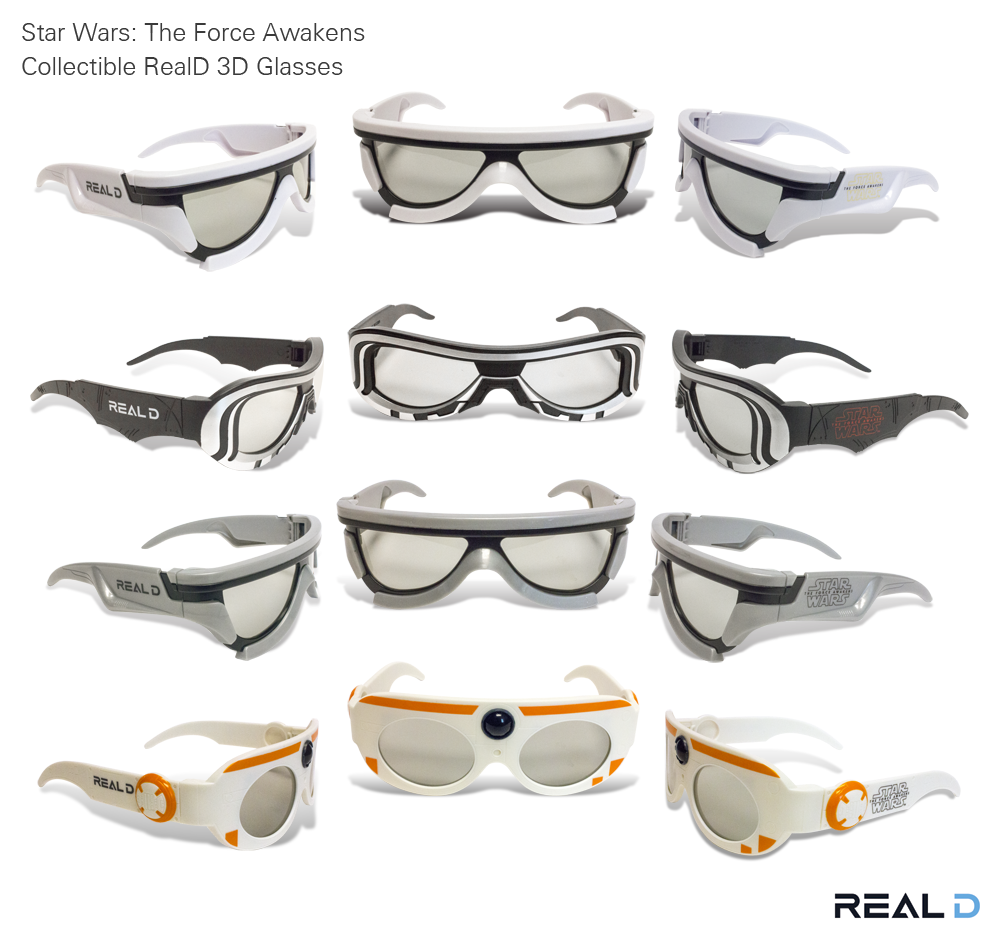 """It's true, All of it."" Collectible #StarWars #TheForceAwakens RealD 3D glasses. https://t.co/xL48Vd7oJn"