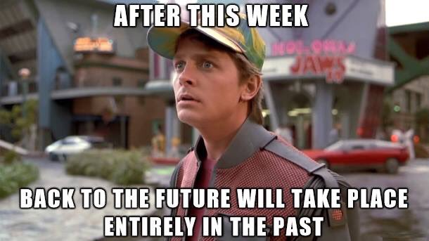 I'll be watching the second one tonight. #BackToTheFuture https://t.co/SwThgCzcD5