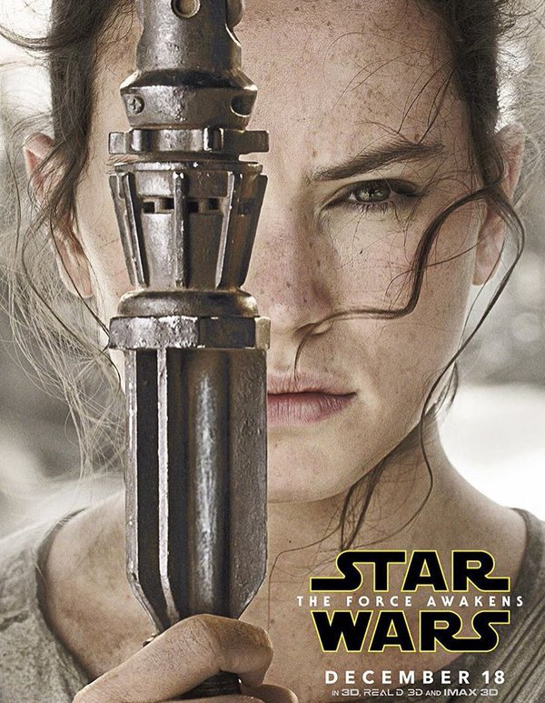 Check out the STAR WARS: THE FORCE AWAKENS character posters dropping as we speak #StarWars https://t.co/dBKpy06QHY