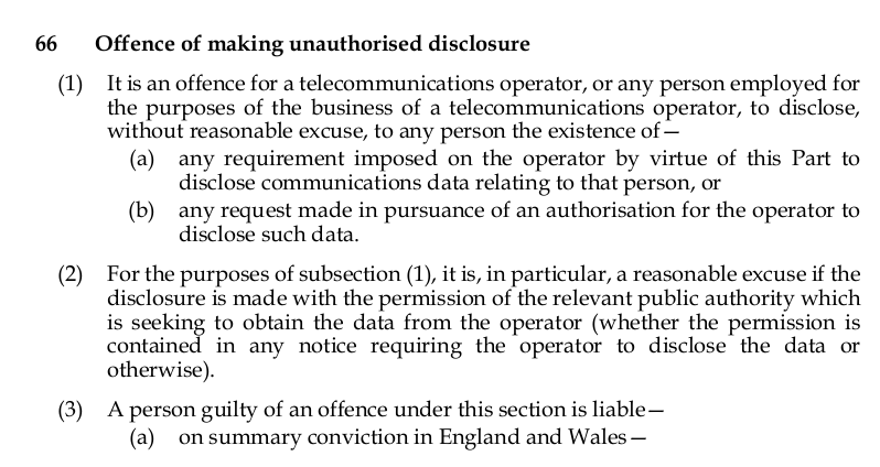 Anti-whistleblower clause in #IPBill https://t.co/o84TmlYpcX