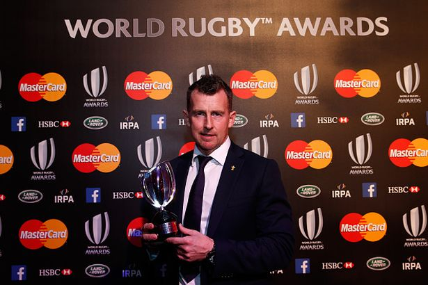 CONGRATULATIONS @Nigelrefowens for winning the @WorldRugby Referee Award & thanks for supporting us over the years! https://t.co/dnnYdOJ0ML