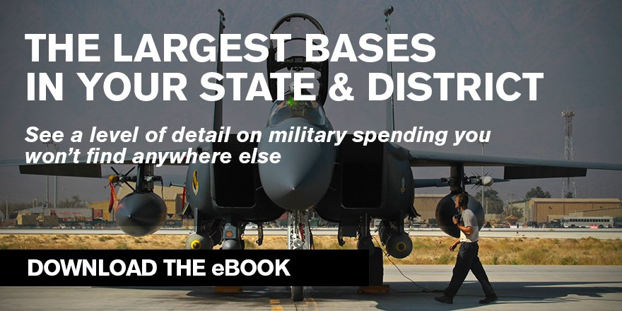 An insider's view of how defense spending is allocated in all 50 states. Download now: https://t.co/WSCdrqLJ7A https://t.co/7hfXc6fJTF