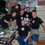 #15YearsOnStation: 15 years of continued human presence in orbit on #ISS! The most important payloads: humans. https://t.co/NFFAosGF2x