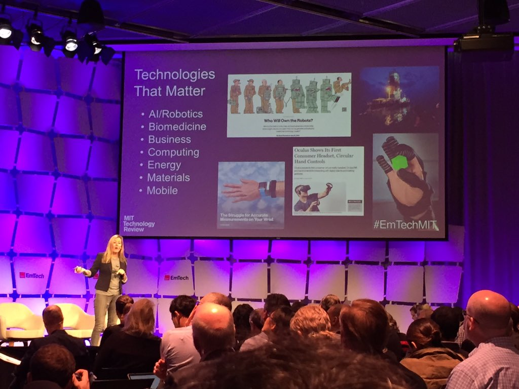 On stage now is @kathleenkennedy outlining the @Innovators35 program at #EmTechMIT. #innovators35 https://t.co/FwcraeWkZH
