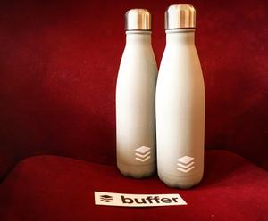 To kick off Monday and celebrate 400k followers on Twitter - we're giving away 2 Buffer bottles: retweet to enter