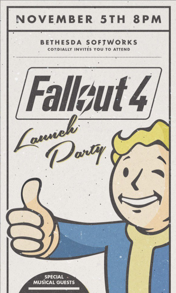 Excited to rock the @Fallout 4 Launch Party this Thursday night in LA #Fallout4Party #Fallout  #welcomehome https://t.co/kABwDrTZ1y