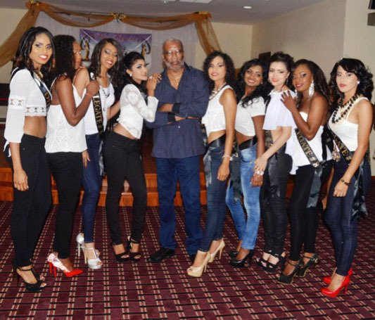 The contestants of this year's Miss Guyana Universe Pageant https://t.co/qkx9cjn01K https://t.co/MibD8ut6zE