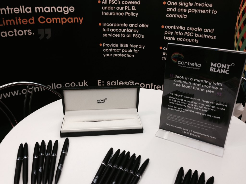 Lovely giveaway at #RecruitmentLiveUK from @contrellaplus https://t.co/HAZaIQAbPu