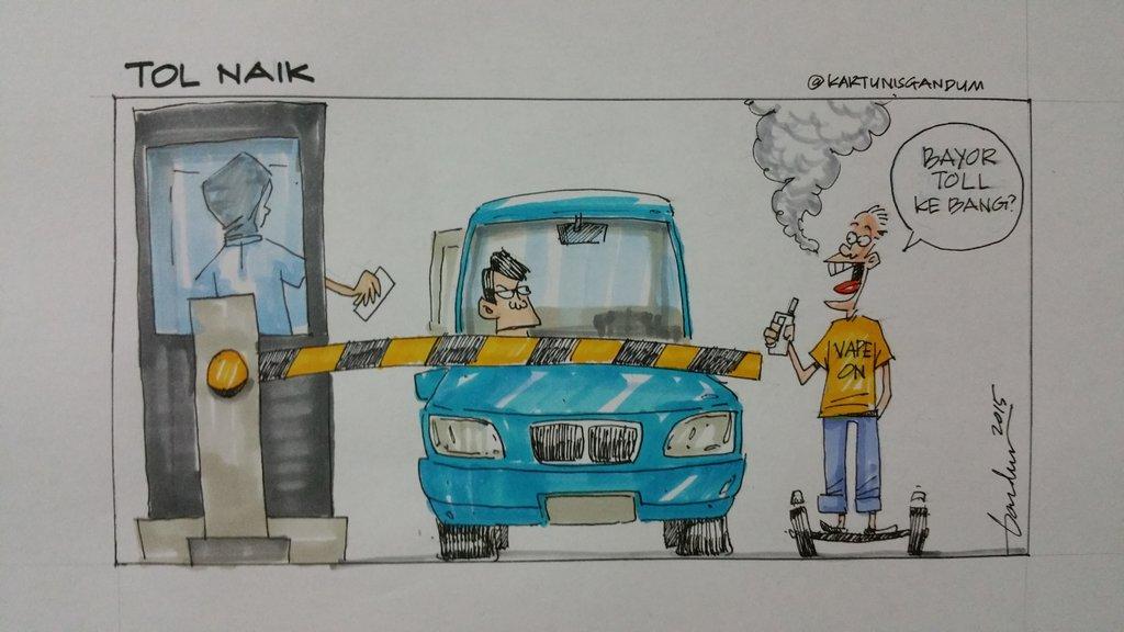 My Latest Cartoon #Toll #MPKotaBeludAdvice https://t.co/faybijTWMD