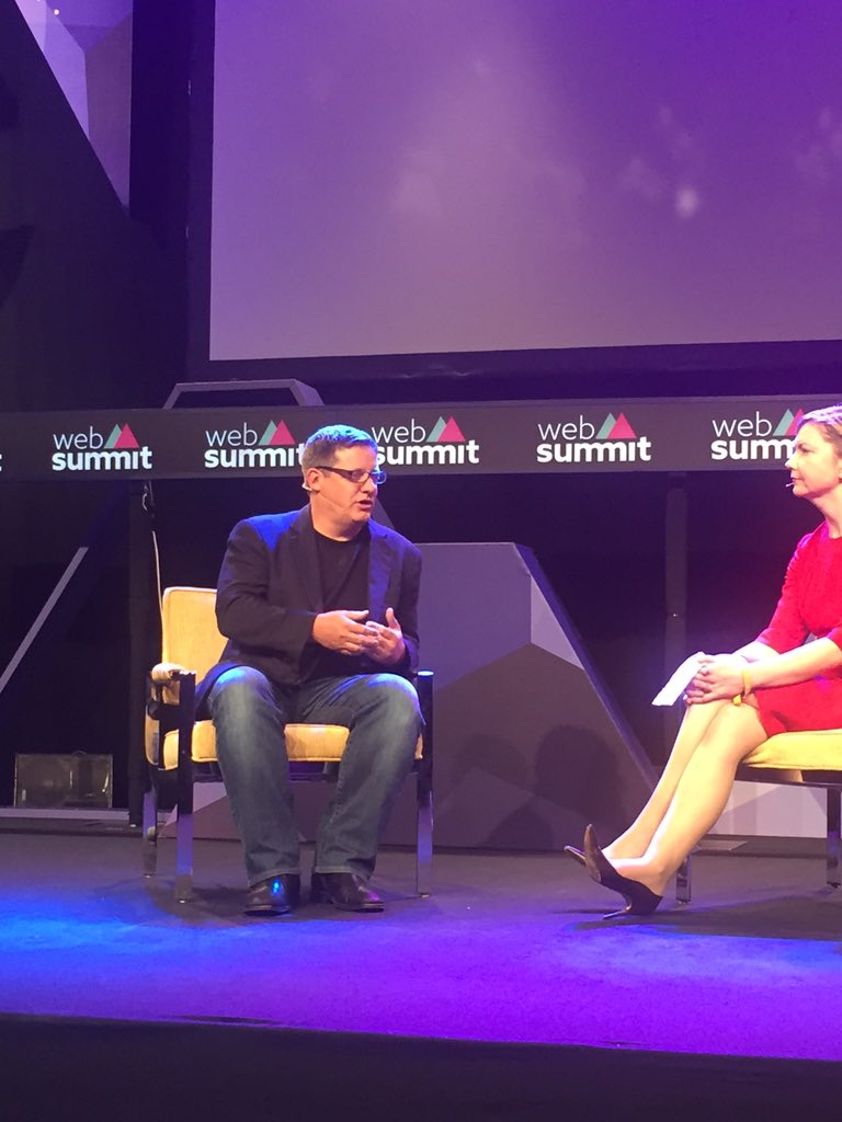 Enterprises need to learn how to develop like a startup- @robmee #websummit https://t.co/O2CCmM0bHa