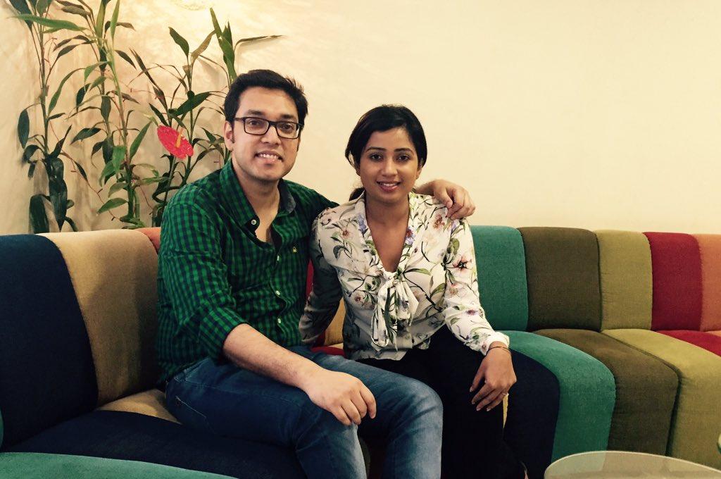 We just recorded a duet for #Prakton @shreyaghoshal https://t.co/vzfqok6J3n