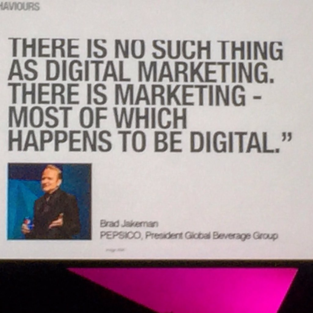 We have said this about #socialmedia for years. Most, if not all, media is social now. #websummit #marketing https://t.co/jg3Ukw2oCp
